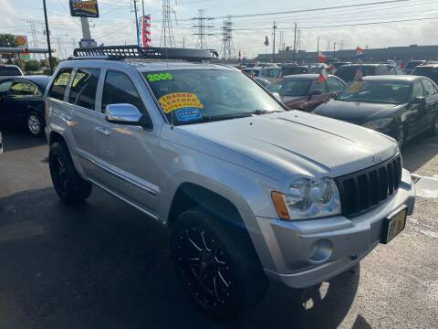 2006 Jeep Grand Cherokee for sale at Texas 1 Auto Finance in Kemah TX