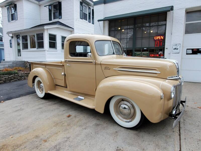 1946 Ford F-100 for sale at Carroll Street Auto in Manchester NH