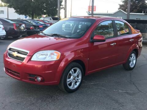 2009 Chevrolet Aveo for sale at Capitol Auto Sales in Lansing MI