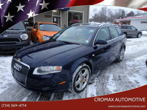2006 Audi A4 for sale at Cromax Automotive in Ann Arbor MI
