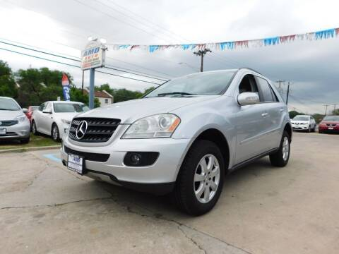 2006 Mercedes-Benz M-Class for sale at AMD AUTO in San Antonio TX
