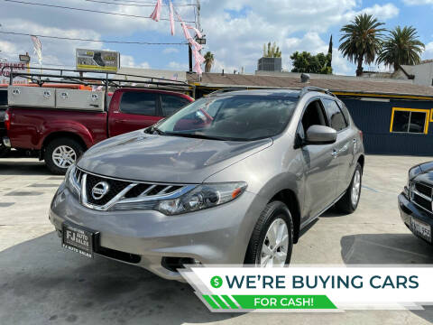 2012 Nissan Murano for sale at FJ Auto Sales North Hollywood in North Hollywood CA
