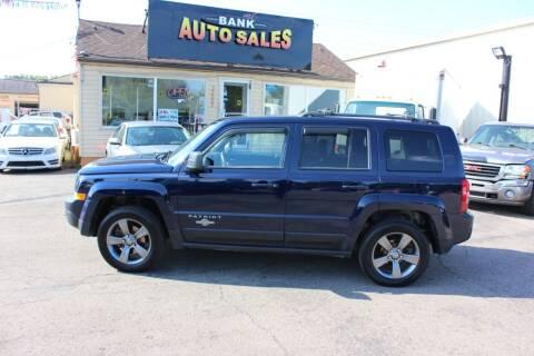 2014 Jeep Patriot for sale at BANK AUTO SALES in Wayne MI