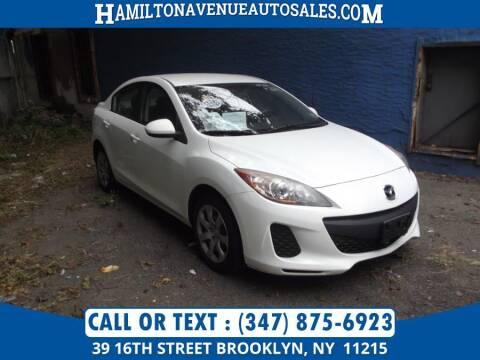 2011 Mazda MAZDA3 for sale at Hamilton Avenue Auto Sales in Brooklyn NY