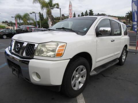 2004 Nissan Armada for sale at Eagle Auto in La Mesa CA