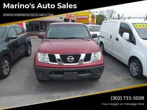 2008 Nissan Frontier for sale at Marino's Auto Sales in Laurel DE