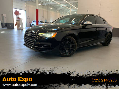 2015 Audi S3 for sale at Auto Expo in Las Vegas NV