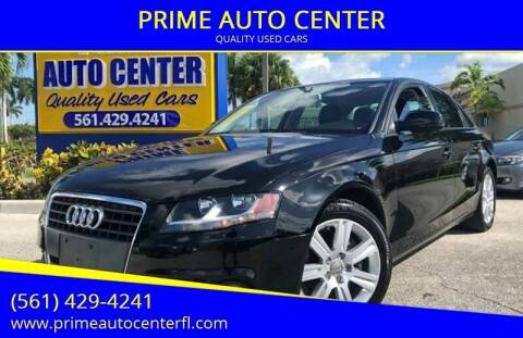 2011 Audi A4 for sale at PRIME AUTO CENTER in Palm Springs FL