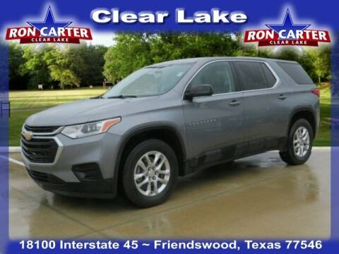 2019 Chevrolet Traverse for sale at Ron Carter  Clear Lake Used Cars in Houston TX
