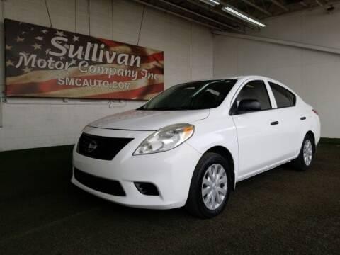 2014 Nissan Versa for sale at SULLIVAN MOTOR COMPANY INC. in Mesa AZ
