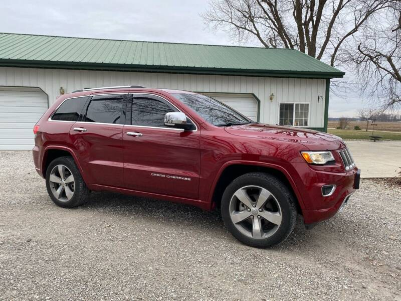 2014 Jeep Grand Cherokee for sale at CMC AUTOMOTIVE in Roann IN