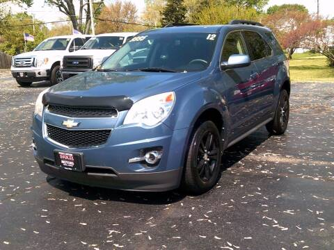 2012 Chevrolet Equinox for sale at Stoltz Motors in Troy OH