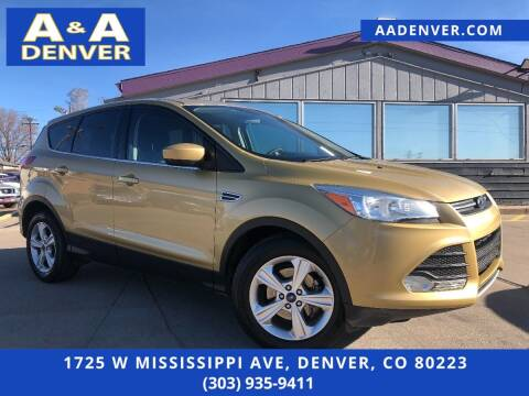 2014 Ford Escape for sale at A & A AUTO LLC in Denver CO