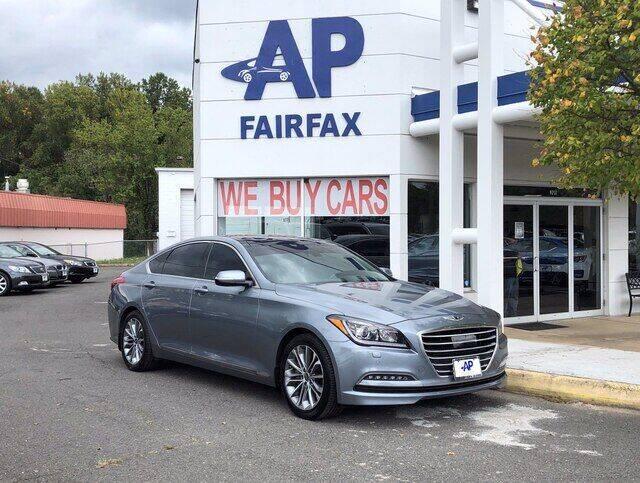 2016 Hyundai Genesis for sale at AP Fairfax in Fairfax VA