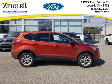 2019 Ford Escape for sale at Zeigler Ford of Plainwell- Jeff Bishop in Plainwell MI