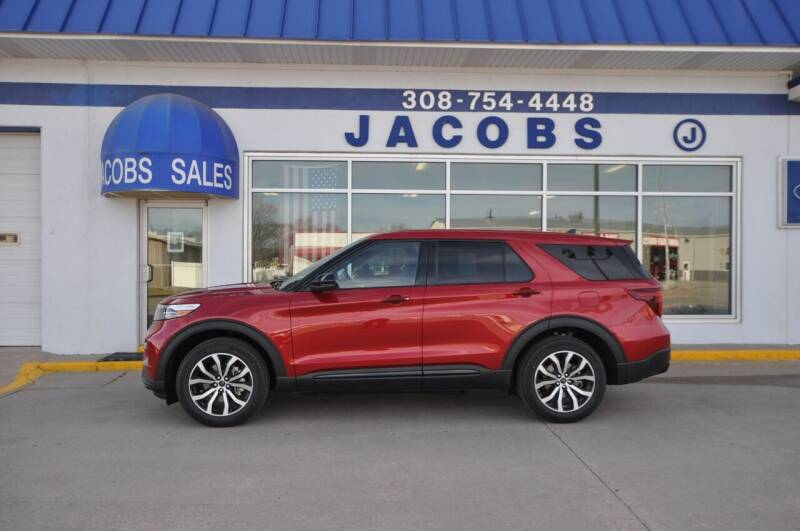 2021 Ford Explorer for sale at Jacobs Ford in Saint Paul NE