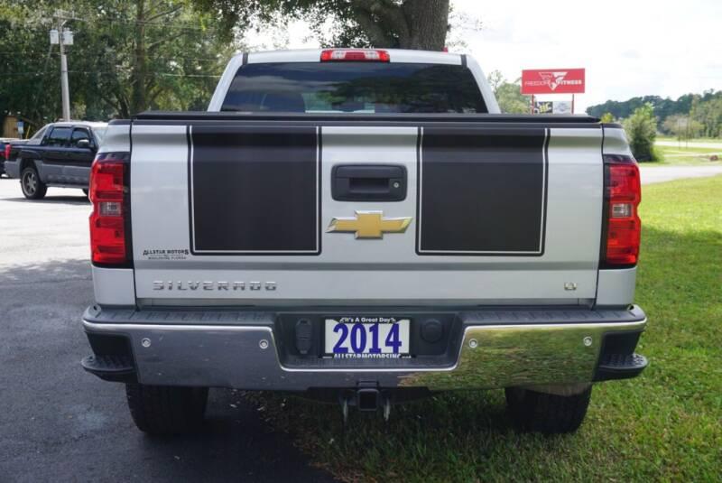 2014 Chevrolet Silverado 1500 4x4 LT 4dr Double Cab 6.5 ft. SB - Middleburg FL