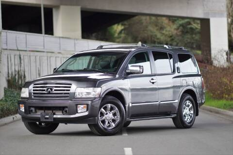 2006 Infiniti QX56 for sale at TOPLINE AUTO GROUP in Kent WA