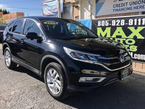 2015 Honda CR-V for sale at Max Auto Sales in Santa Maria CA
