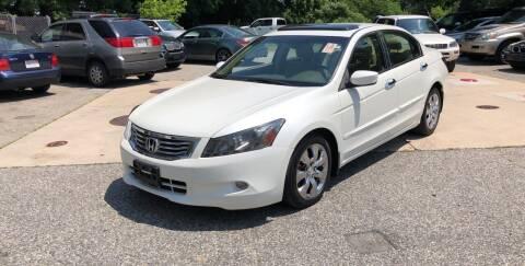 2009 Honda Accord for sale at Barga Motors in Tewksbury MA