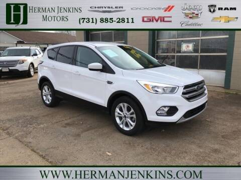 2017 Ford Escape for sale at Herman Jenkins Used Cars in Union City TN