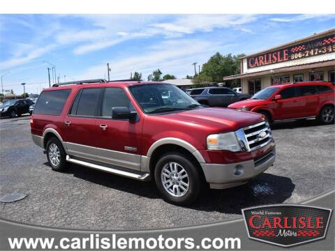 2007 Ford Expedition EL for sale at Carlisle Motors in Lubbock TX