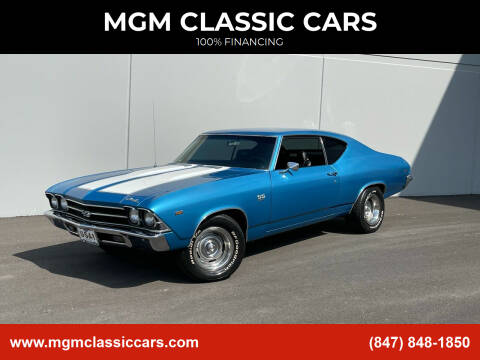 1969 Chevrolet Chevelle for sale at MGM CLASSIC CARS in Addison, IL