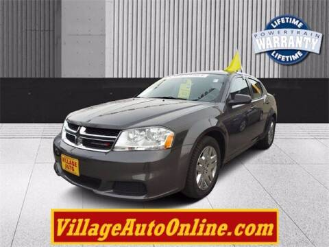 2014 Dodge Avenger for sale at Village Auto in Green Bay WI