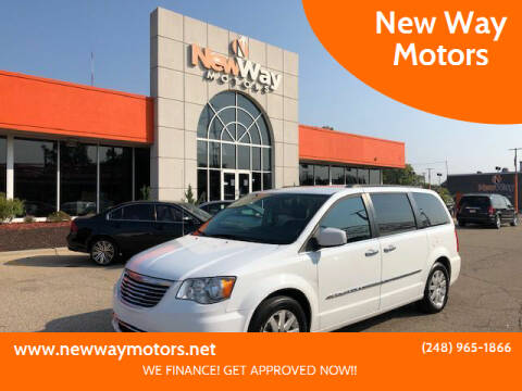 2016 Chrysler Town and Country for sale at New Way Motors in Ferndale MI