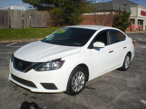 2018 Nissan Sentra for sale at 611 CAR CONNECTION in Hatboro PA
