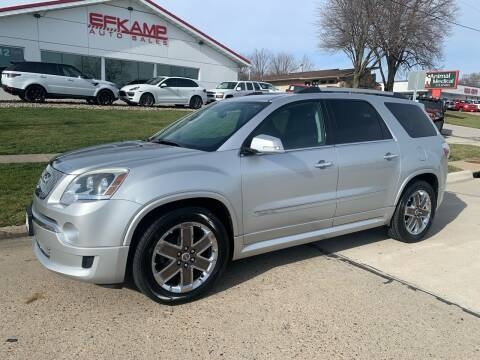 2011 GMC Acadia for sale at Efkamp Auto Sales LLC in Des Moines IA
