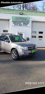 2008 Ford Escape for sale at Pikeside Automotive in Westfield MA