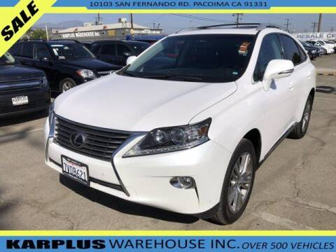2015 Lexus RX 350 for sale at Karplus Warehouse in Pacoima CA