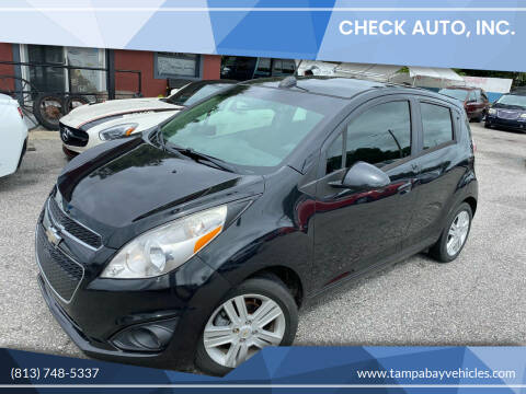 2015 Chevrolet Spark for sale at CHECK AUTO, INC. in Tampa FL
