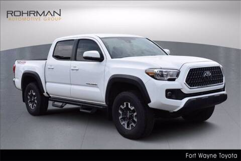 2019 Toyota Tacoma for sale at BOB ROHRMAN FORT WAYNE TOYOTA in Fort Wayne IN
