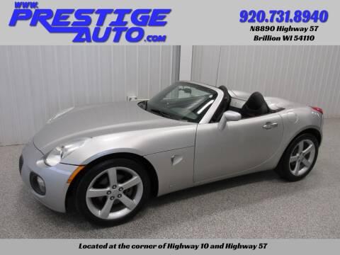 2007 Pontiac Solstice for sale at Prestige Auto Sales in Brillion WI
