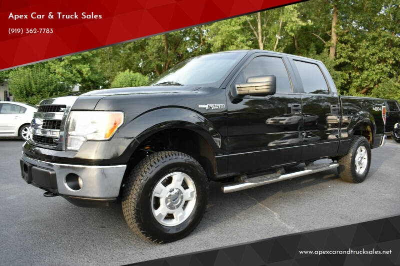 2013 Ford F-150 for sale at Apex Car & Truck Sales in Apex NC
