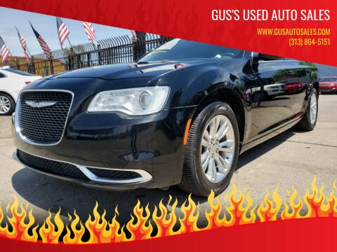 2017 Chrysler 300 for sale at Gus's Used Auto Sales in Detroit MI