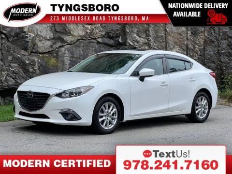 2016 Mazda MAZDA3 for sale at Modern Auto Sales in Tyngsboro MA