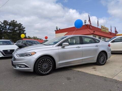 2017 Ford Fusion for sale at CarZoneUSA in West Monroe LA