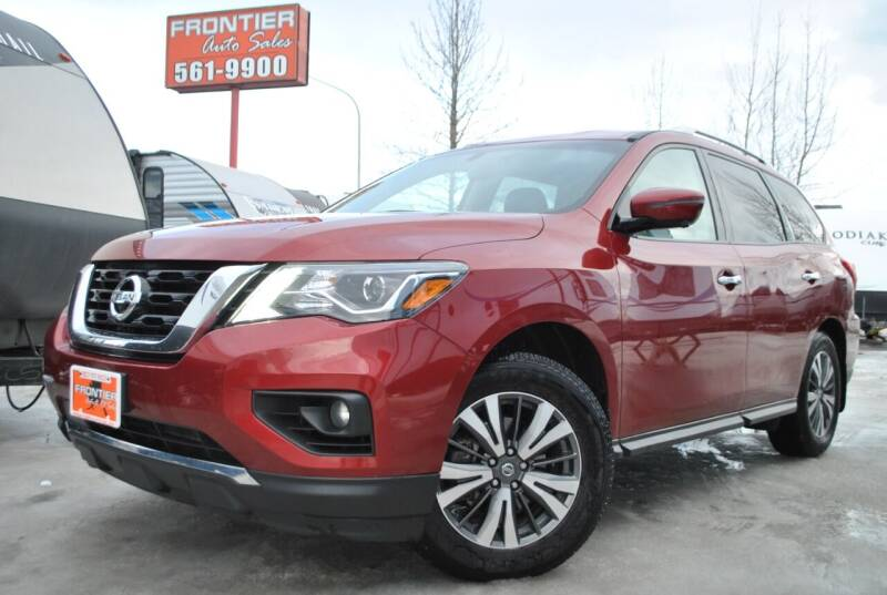 2017 Nissan Pathfinder for sale at Frontier Auto & RV Sales in Anchorage AK