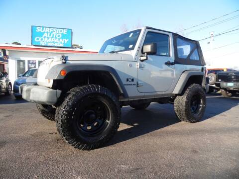 2007 Jeep Wrangler for sale at Surfside Auto Company in Norfolk VA