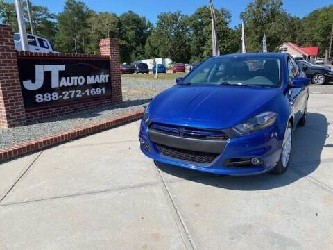 2013 Dodge Dart for sale at J T Auto Group in Sanford NC