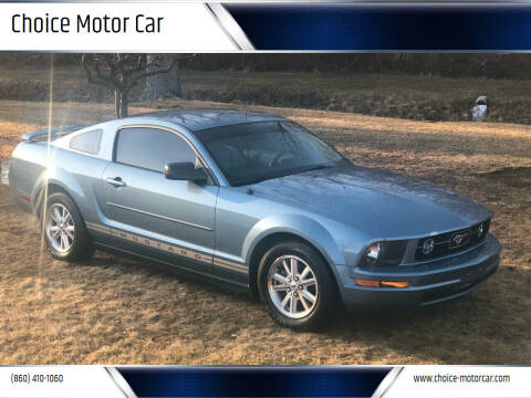 2006 Ford Mustang for sale at Choice Motor Car in Plainville CT
