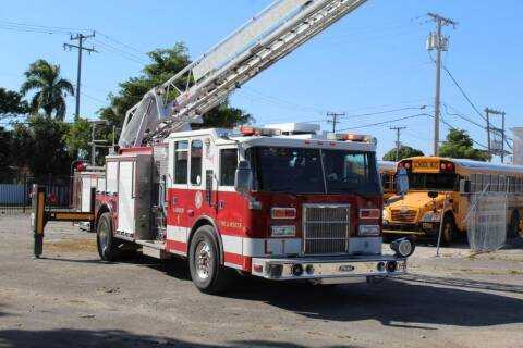 1997 Pierce Fire Truck for sale at Truck and Van Outlet in Miami FL