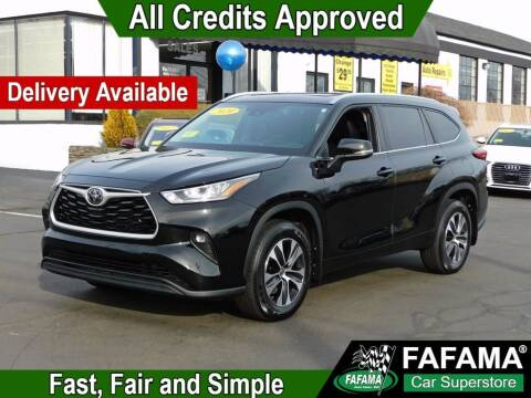 2020 Toyota Highlander for sale at FAFAMA AUTO SALES Inc in Milford MA