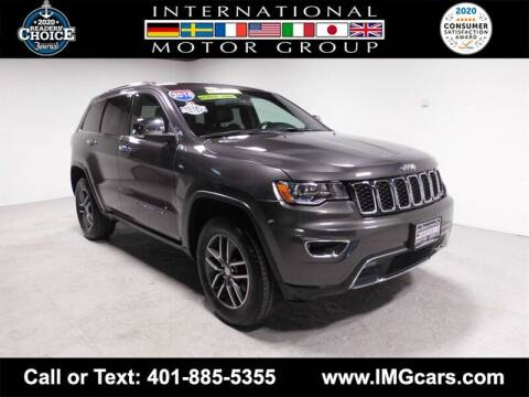 2018 Jeep Grand Cherokee for sale at International Motor Group in Warwick RI