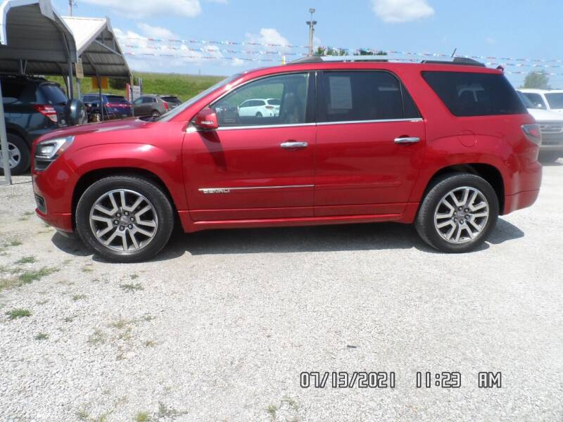 2013 GMC Acadia for sale at Town and Country Motors in Warsaw MO