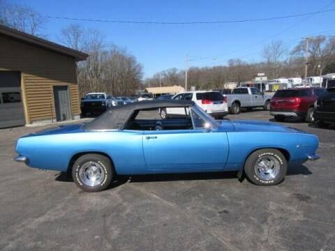 1967 Plymouth Barracuda for sale at Bill Smith Used Cars in Muskegon MI