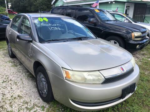 2004 Saturn Ion for sale at Castagna Auto Sales LLC in Saint Augustine FL